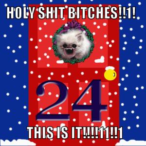 OMG Christmas Eve WTF!