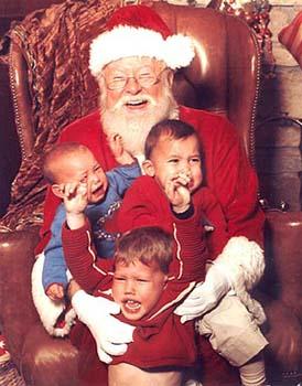Scary Santa!